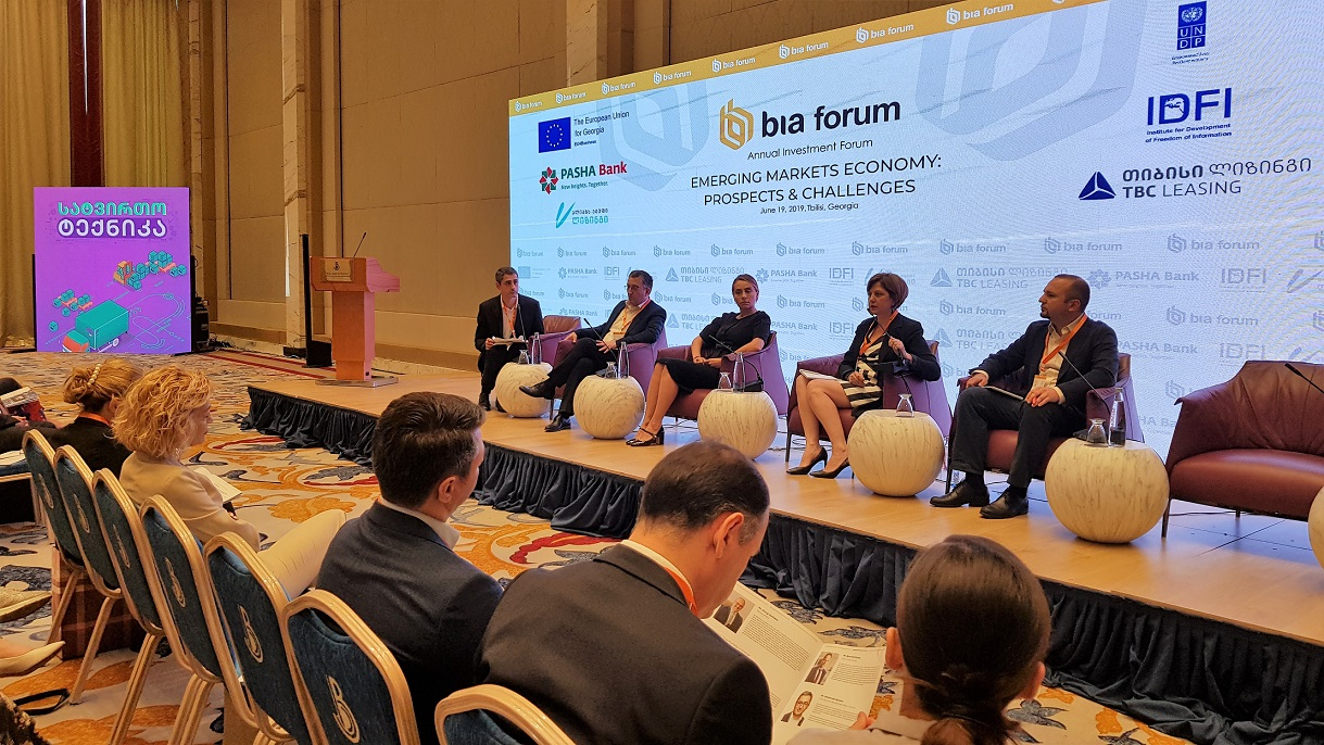 IDFI's Panel at International Investment Forum
