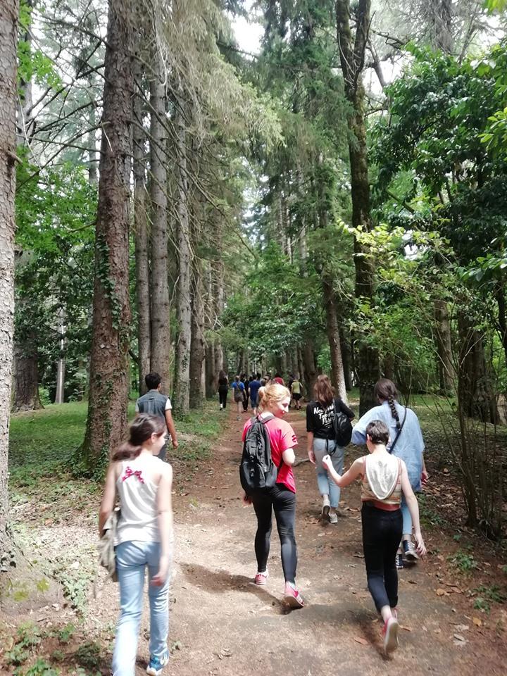 სკაუტების ტრენინგი გორაბერეჟოულის ტყე-პარკში