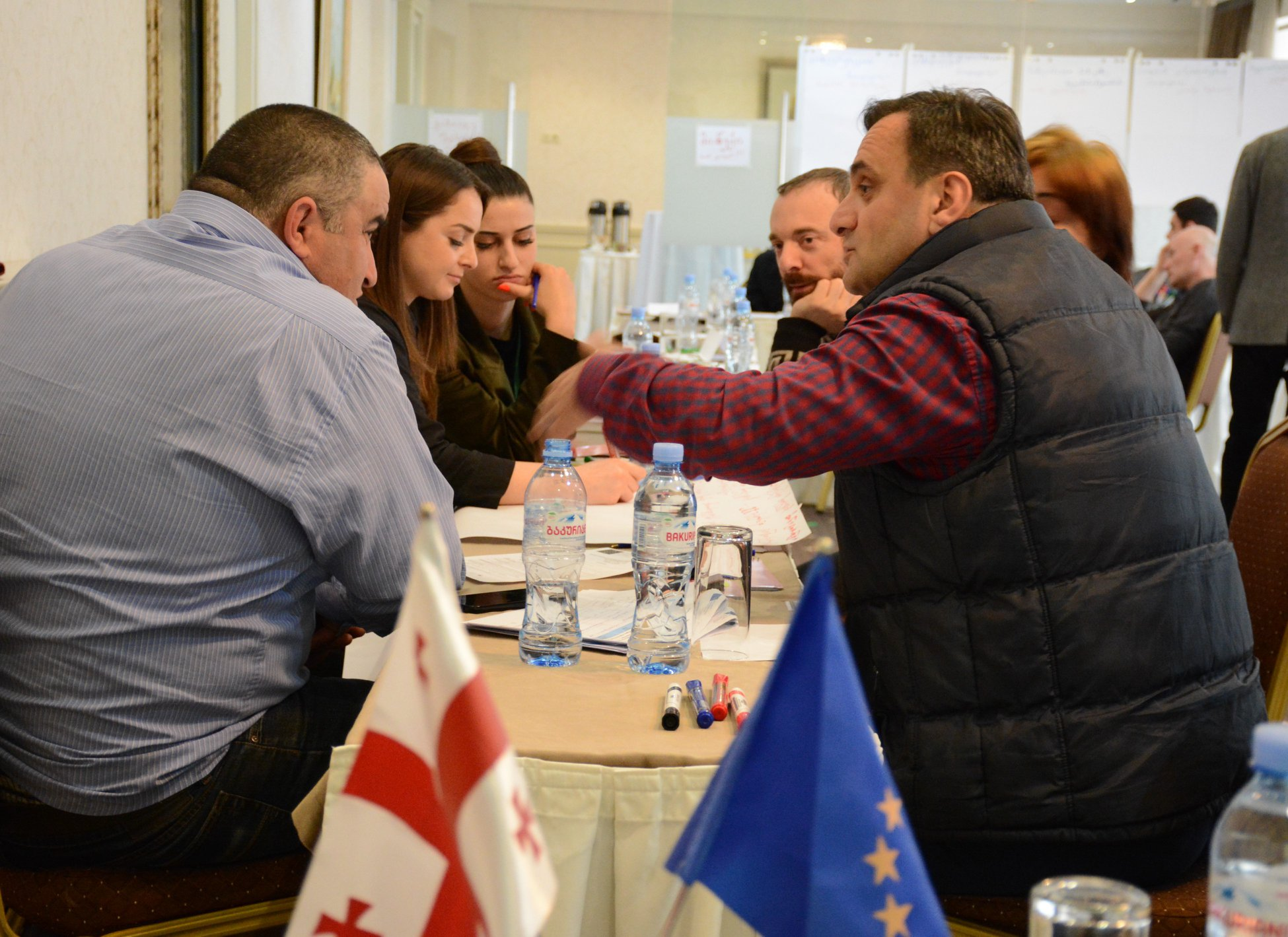ტრენინგი: ევროკავშირსა და საქართველოს შორის ასოცირების შეთანხმების შესახებ
