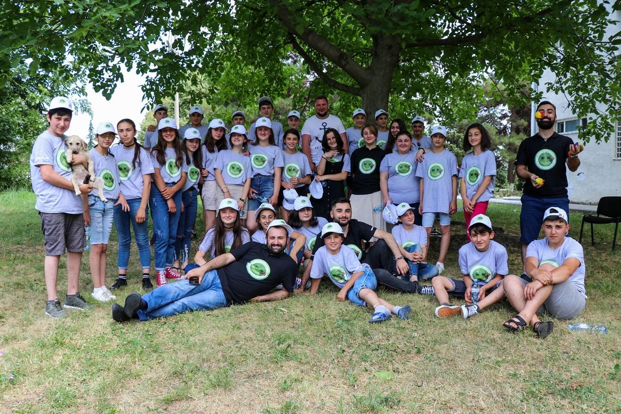 RDFG კაჭრეთში ევროკავშირის მიერ მხარდაჭერილ ახალგაზრდულ ბანაკს ხსნის