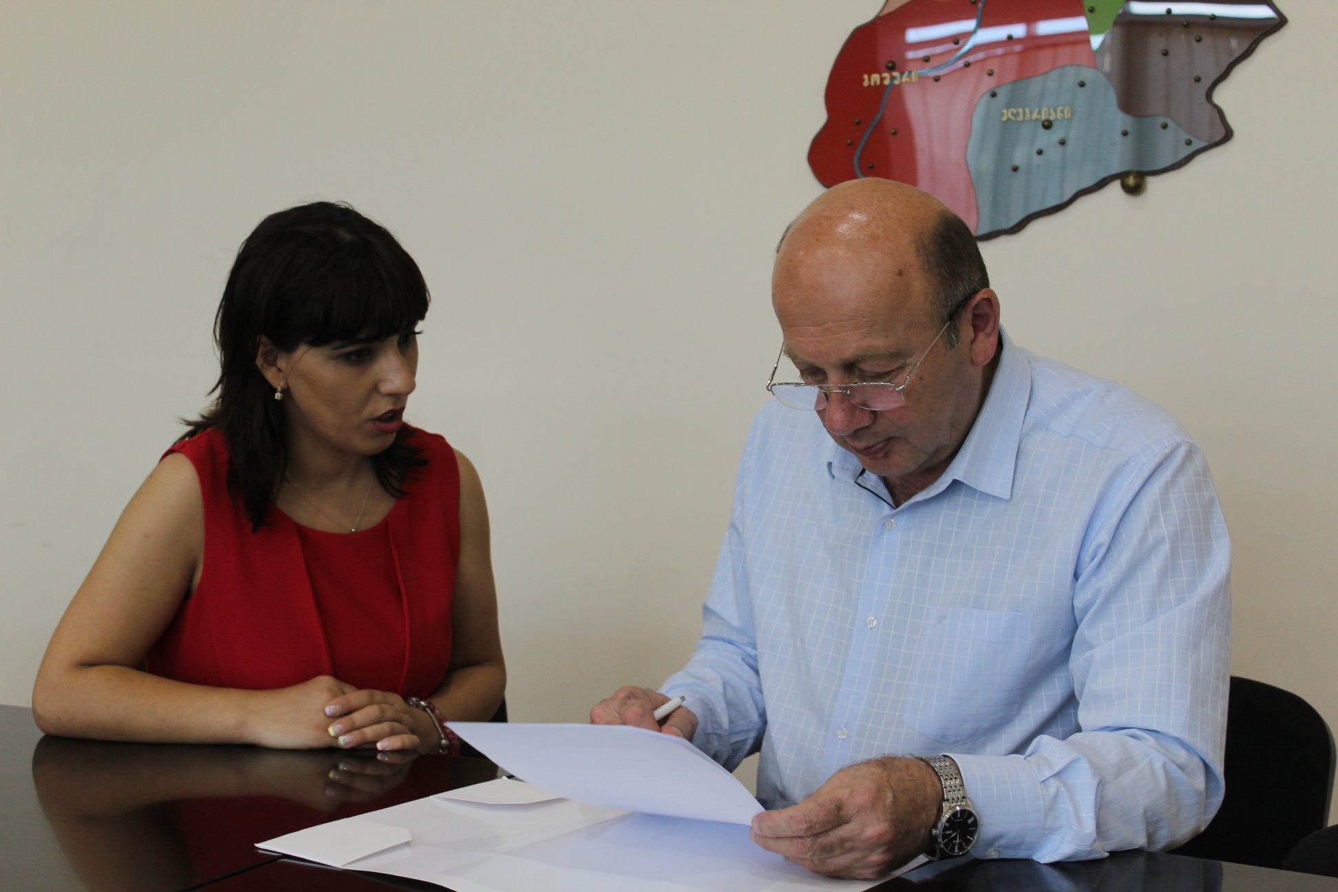 სამოქალაქო საზოგადოების ინსტიტუტი (CSI) და გორის მუნიციპალიტეტის მერია თანამშრომლობას იწყებენ