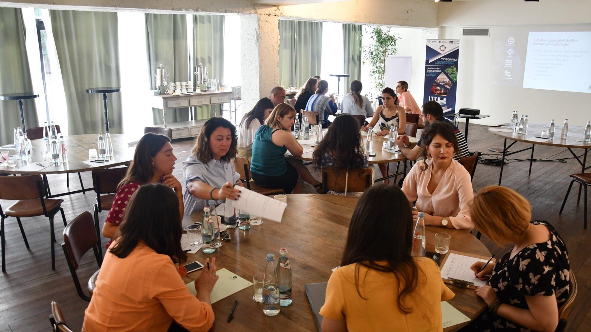 სამუშაო შეხვედრა შრომის უფლებების და გენდერული თანასწორობის საკითხებზე