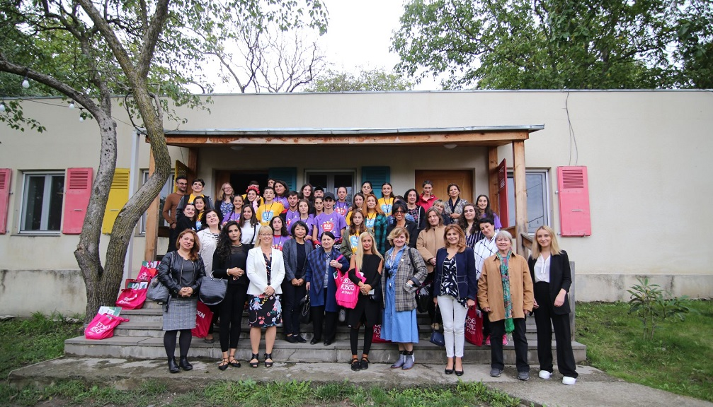 International Women's Association Visited the EU-Supported Green Camp for Young Leaders