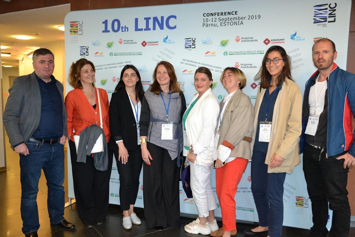 LINC კონფერენციაშია ესტონეთში