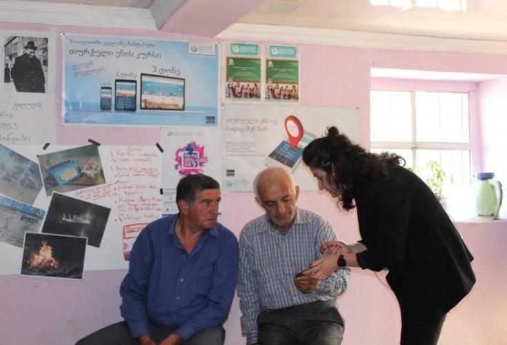 საინფორმაციო შეხვედრა სოფელ ხულდარაში