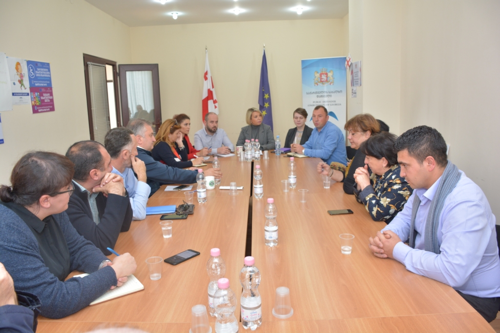 Meetings in Akhalkalaki and Ninotsminda