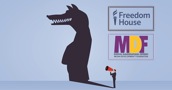 Freedom House: MDF-მა სოციალური მედიის ათობით ყალბი ანგარიში გამოავლინა
