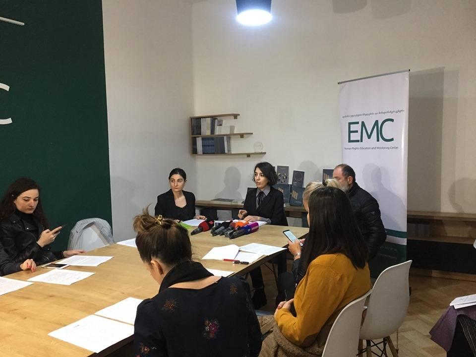 EMC მაჩალიკაშვილის საქმეზე სუს-ის მაღალი თანამდებობის პირების გამოკითხვის პროცესს აფასებს