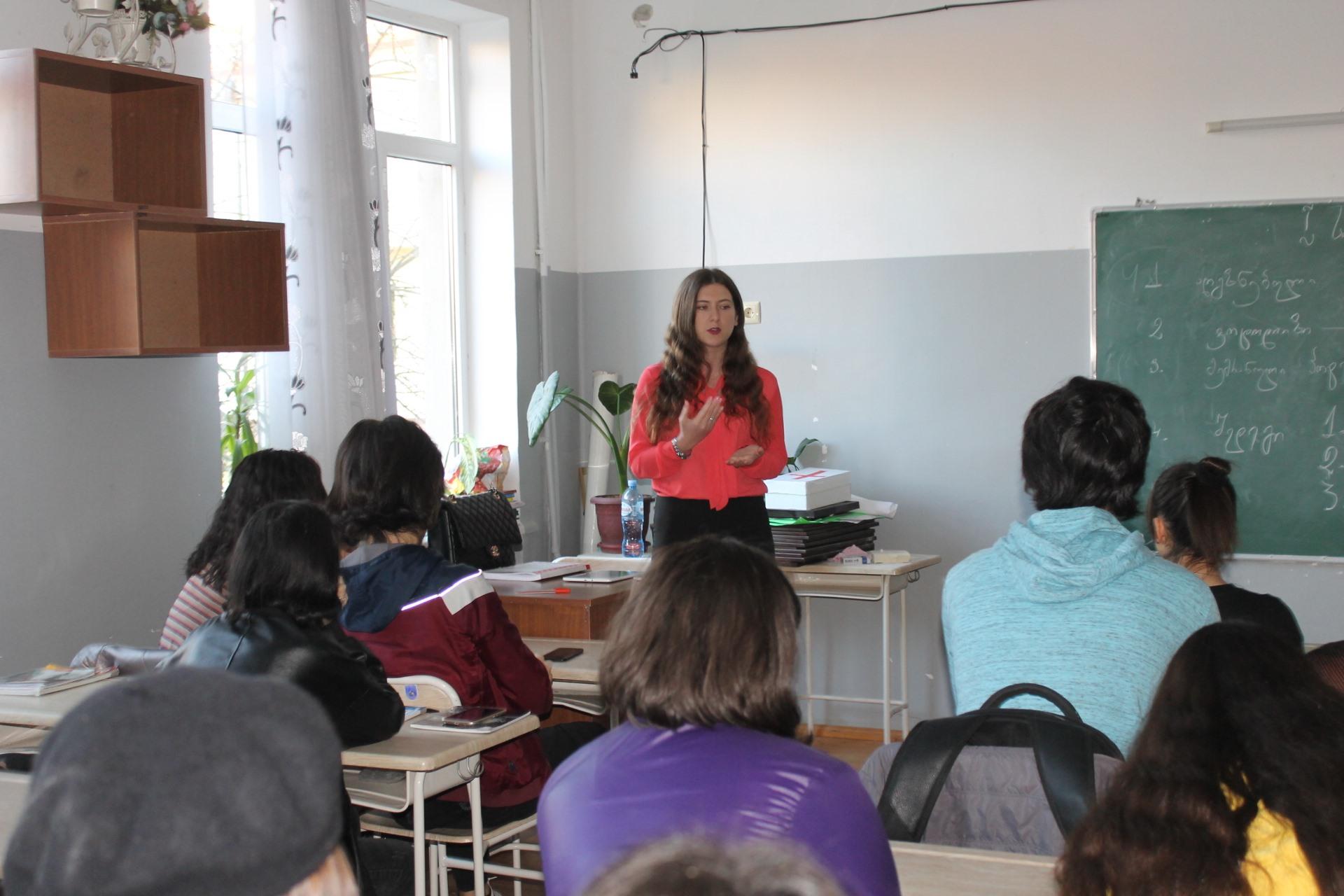 თანატოლთა განათლების ტრენინგი ქალთა უფლებებზე
