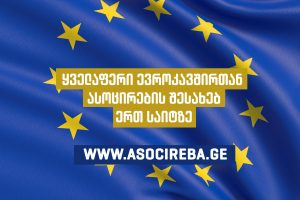 www.asocireba.ge - All about association with the European Union on one site