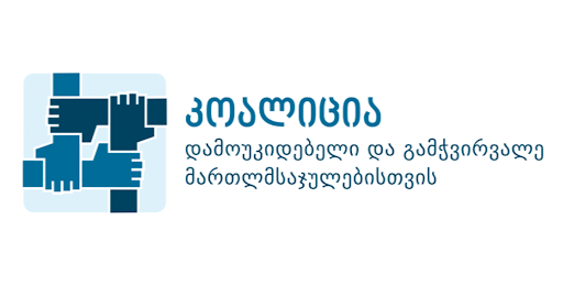 The Coalition's Statement on Nominating Nino Kadagidze as the Chair