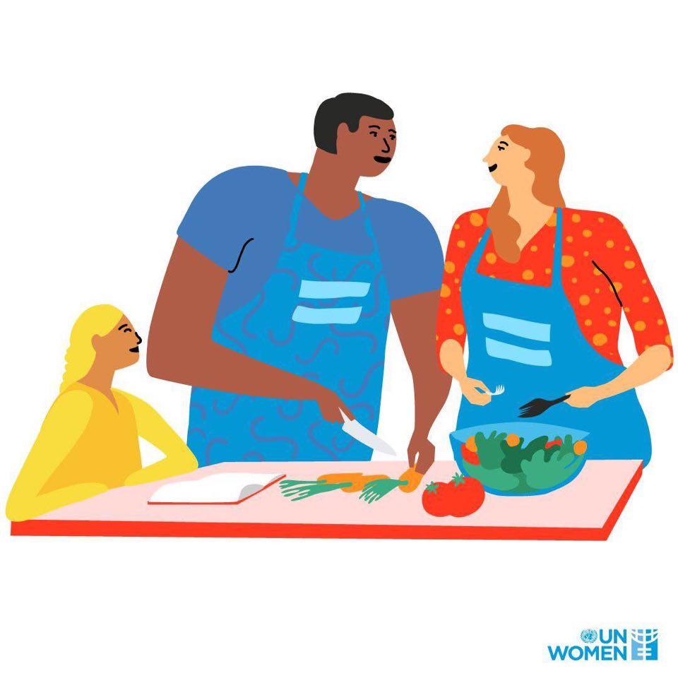 ქალებს, რომლებიც დისტანციურად მუშაობენ, გაზრდილი საოჯახო საქმეების შესრულებაც უწევთ