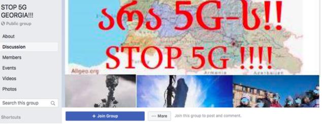 5G ტექნოლოგია, რუსული დეზინფორმაცია და კორონავირუსი