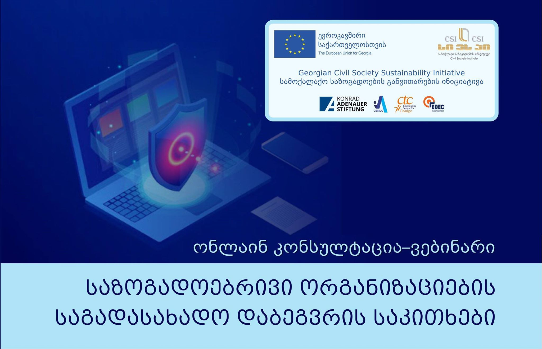 Webinar - Taxation of civil society organizations