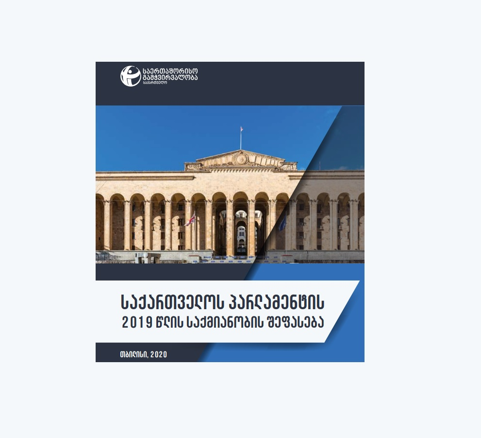 Assessment of the Performance of the Parliament of Georgia in 2019
