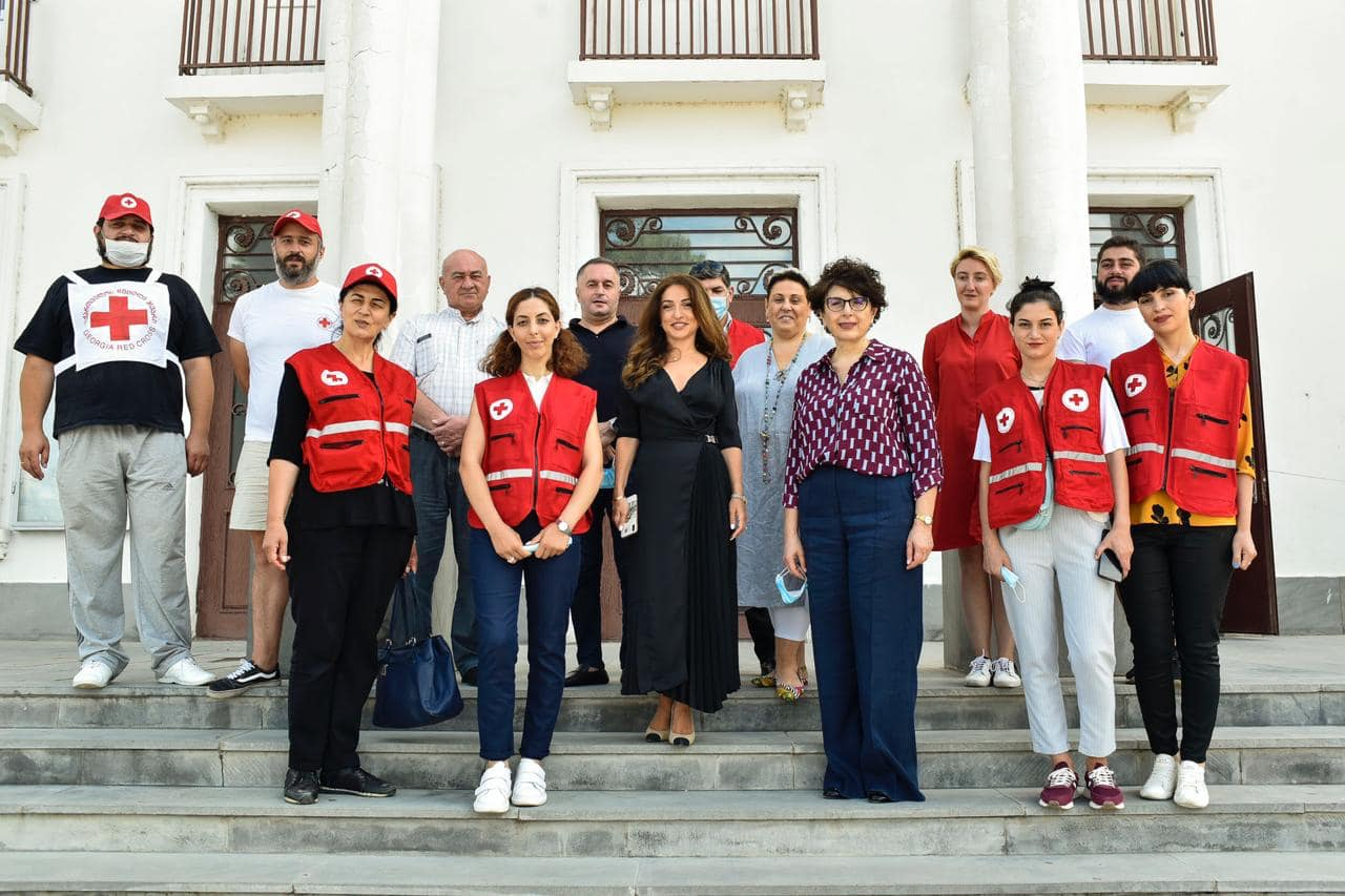 Joint Project of the Georgia Red Cross Society and the UNFPA