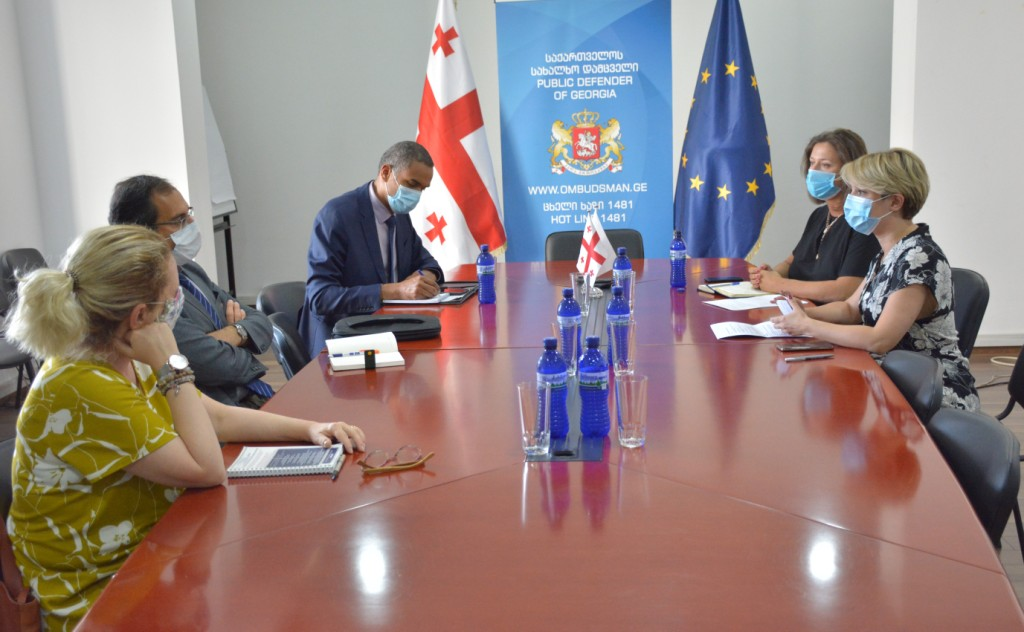 Meeting with Members of Council of Europe Delegation