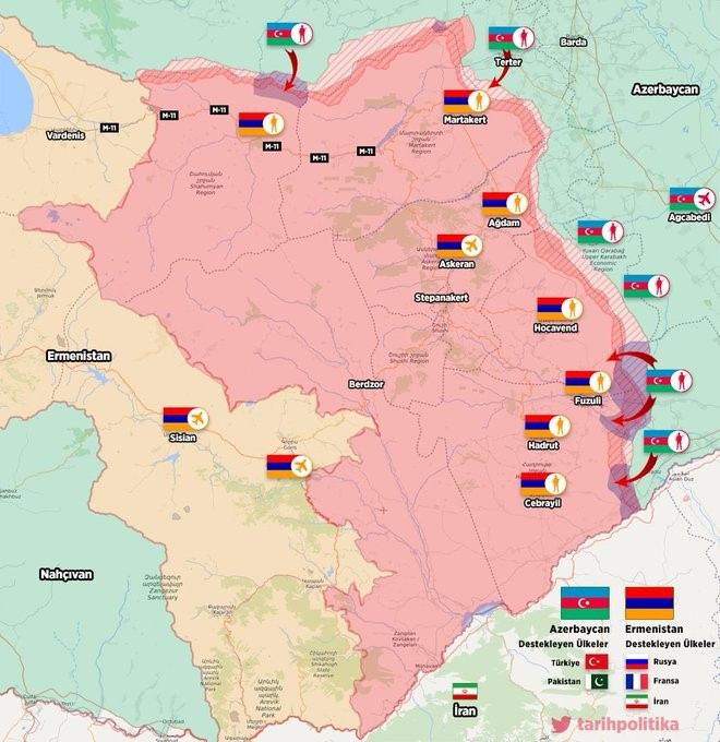 Escalation of the Karabakh conflict: Threats and challenges to Georgia