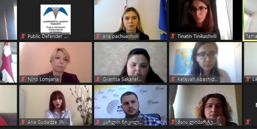 Online Meeting on Human Rights Defenders and Challenges Faced by Them