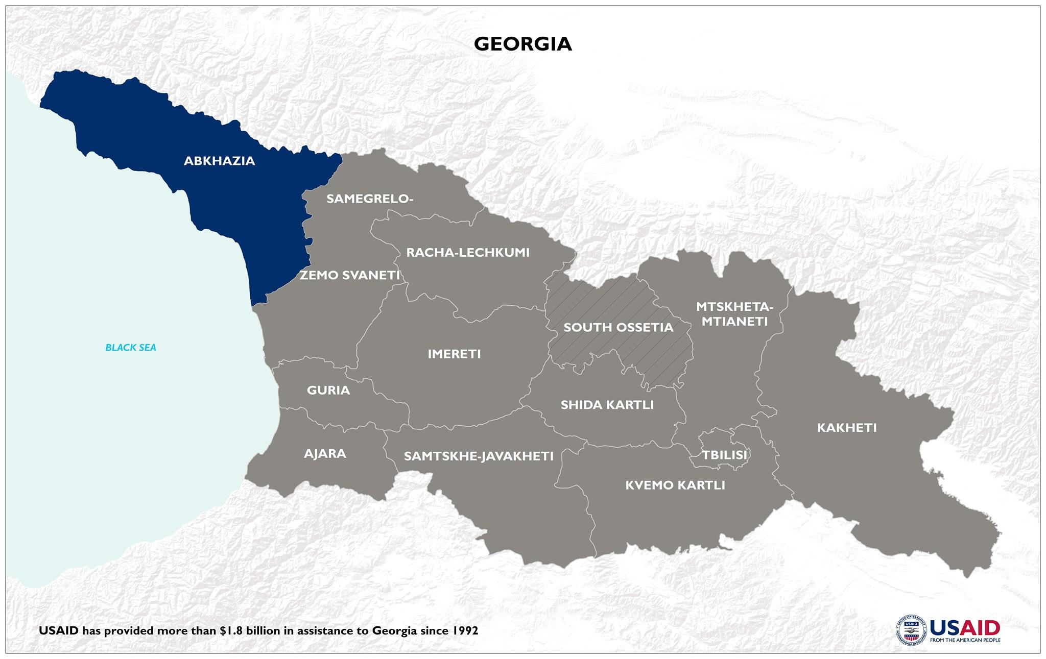 USAID/Georgia representatives visited Georgia's Abkhazia region