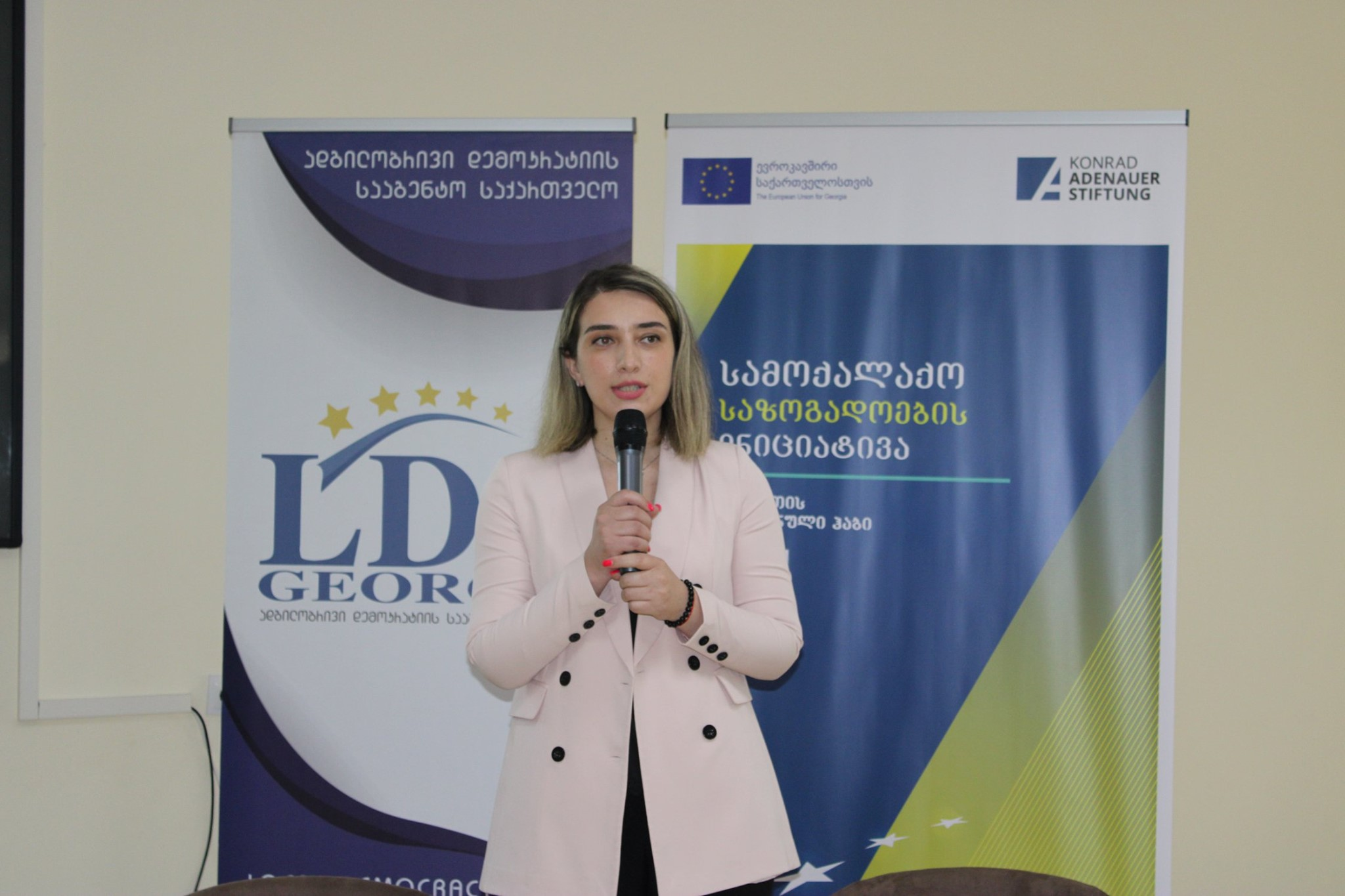 Presentation of Imereti Regional Hub project