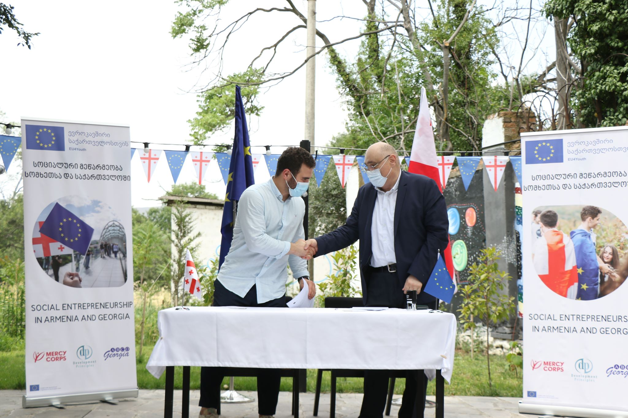 EU awards grants to youth projects to promote social entrepreneurship in Georgia