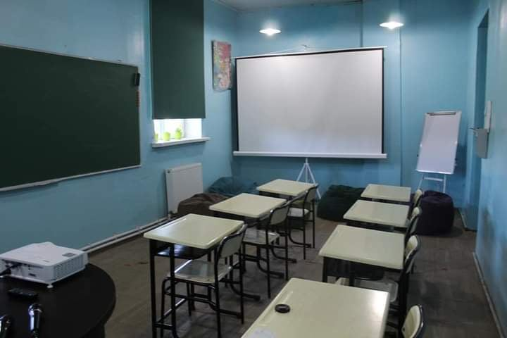"""A voluntary activity of students of an Askana school – """"digital space"""" for a school..."""