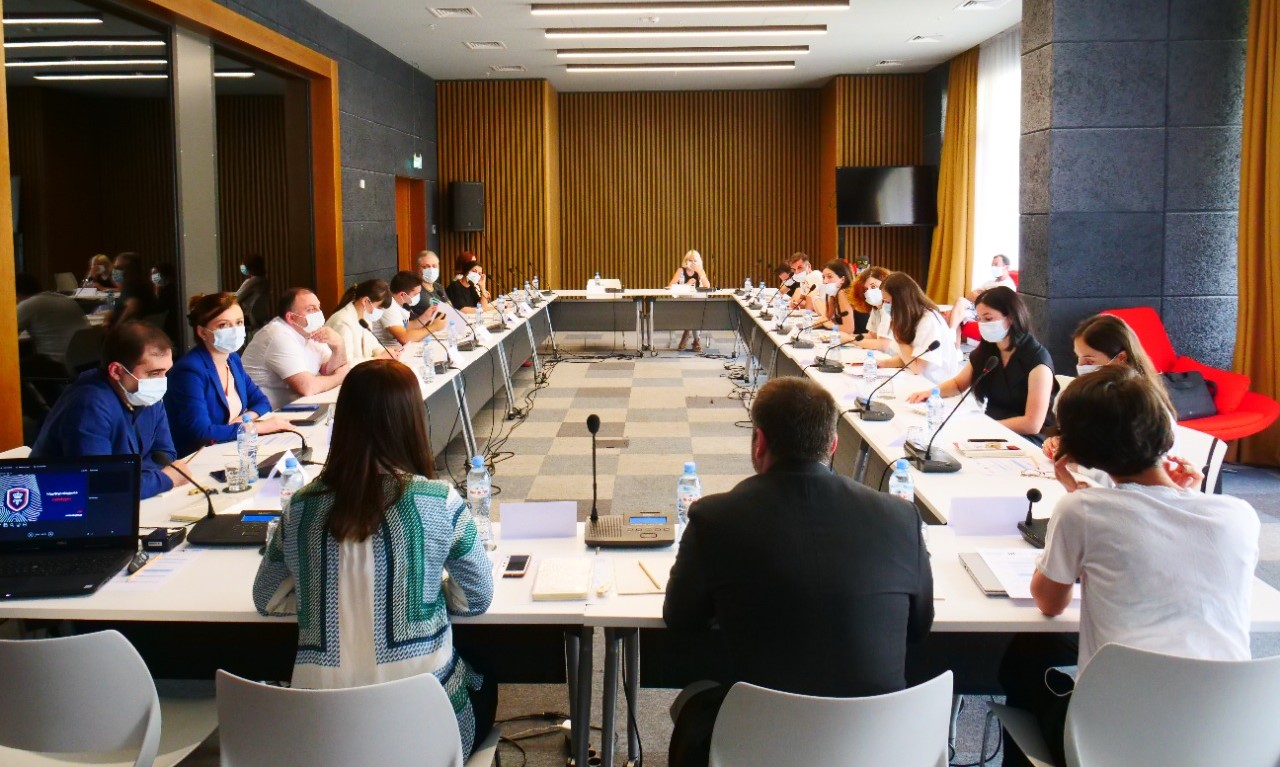 Working Meeting with Media Representatives