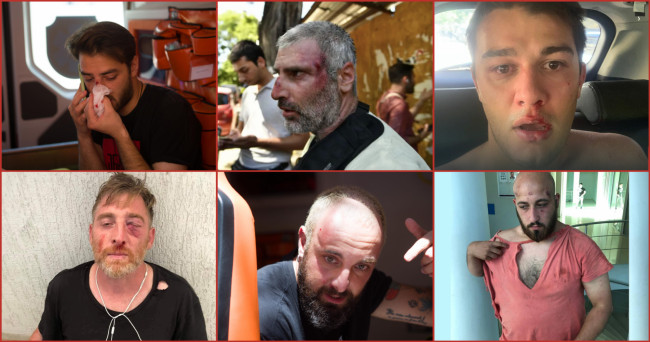 List of journalists attacked by violent groups